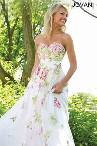 floral print wedding dress weddingbee With printed wedding dress