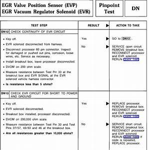 84 Egr Vacuum Solenoid Circuit Failure