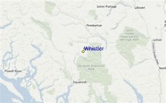 Whistler Ski Resort Guide, Location Map & Whistler ski ...