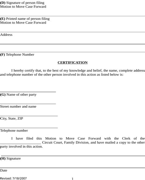 kentucky divorce form   page