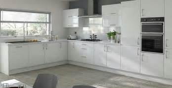 White Gloss Kitchen Design Ideas by Plain White Kitchen Cabinet Doors Kitchen And Decor