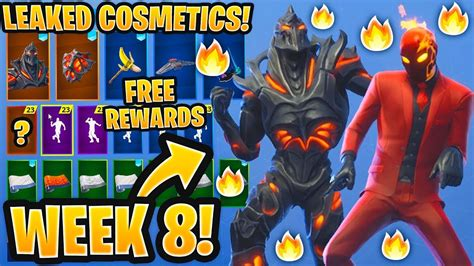 leaked fortnite skins emotes week  skin