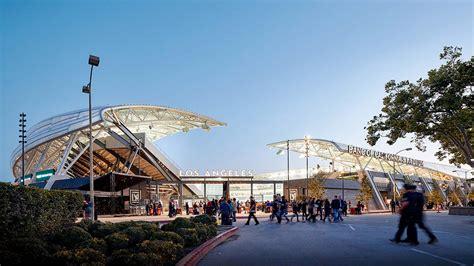 Banc Of California Stadium Brand Design  Projects Gensler