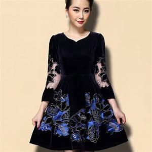 Plus Size 5XL Fashion High end Spring Autumn Long Seeve ...