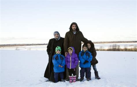 Rotarians In Nova Scotia Em Ce Syrian Refugee Family