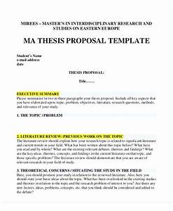 Msc Dissertation Proposal Example Writing An Essay For College