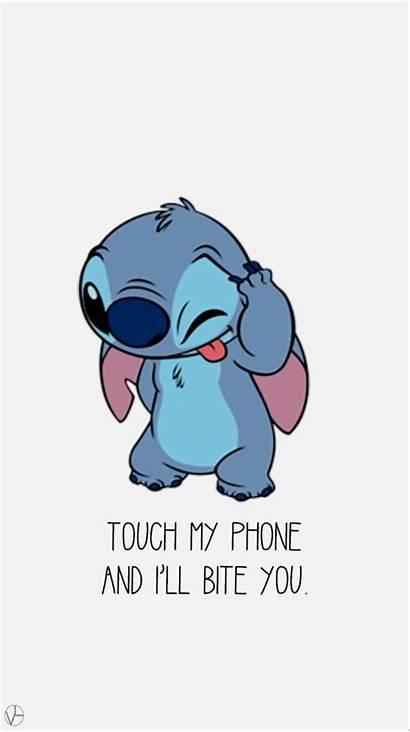 Disney Phone Iphone Christmas Screen Cartoon Stitch