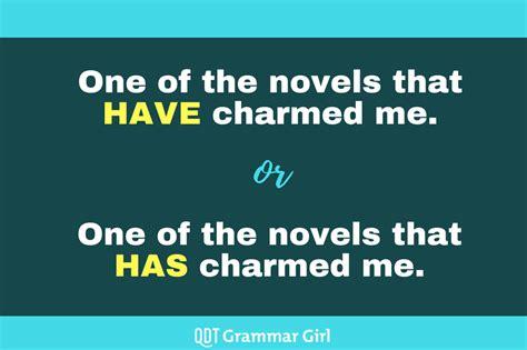 singular  plural verbs     grammar girl