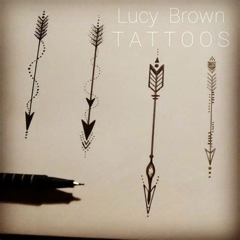 arrow tattoos ideas  pinterest arrow tattoo