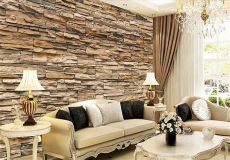 fascinating  wallpaper ideas  adorn  living room
