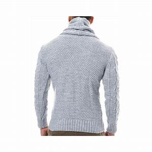 Pull Col Roulé Homme Zara : pull gris col roul homme pas cher r f rence pu35 pulls styl ~ Farleysfitness.com Idées de Décoration