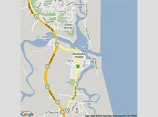 Map of Brunswick Heads, NSW Hotels Accommodation
