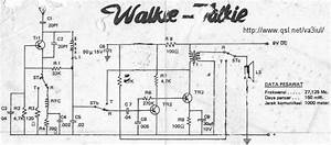 Any Available Circuit Diagrams Of Good Basic Walkie Talkie
