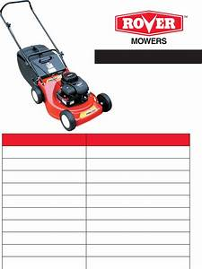 Download Rover Lawn Mower 11024 Manual And User Guides