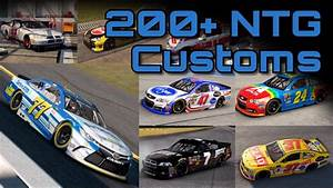 ‪Over 200 NASCAR The Game Custom Paint Booth Schemes ...