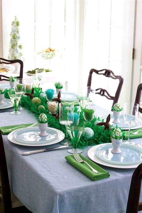 easter dinner table setting ideas easter table decor