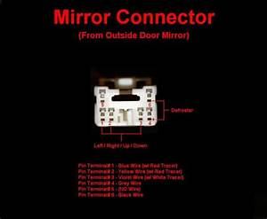 Wiring Diagram For Power  Heated Mirrors