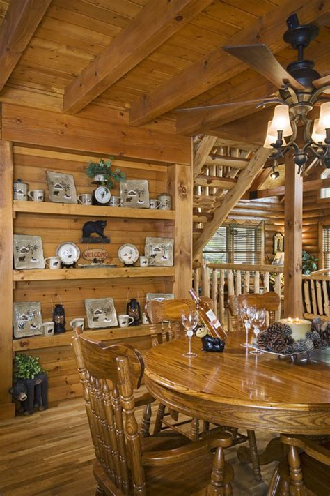 darlington plan modified cabin log homes timber frame