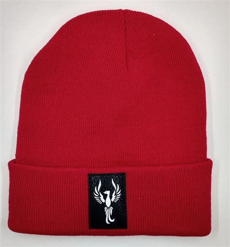 Buddha Beanie with the Powerful Phoenix Symbol over your ...
