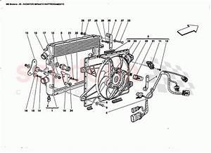 Ferrari 360 Modena Cooling System Raoiators Parts