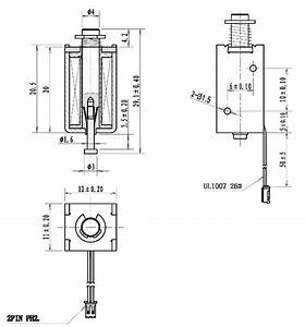 Mini Push-pull Solenoid - 5v Id  2776