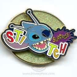 disney surprise pin stitch