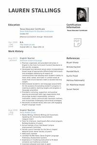 english teacher resume samples visualcv resume samples With english teacher cv