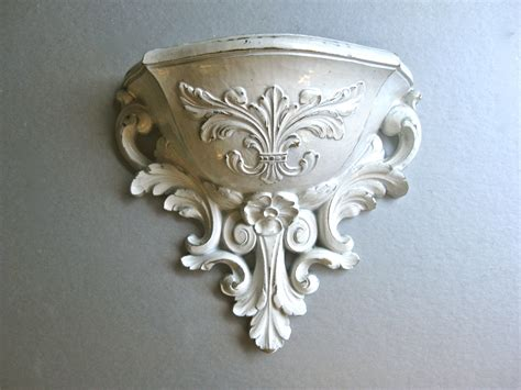 shabby chic sconces vintage wall pocket wall sconce planter shabby chic by swede13