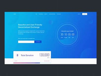 Ico Website Template Crypto Currency Dribbble