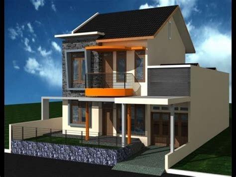 model rumah sederhana  lantai  minimalis tapi mewah