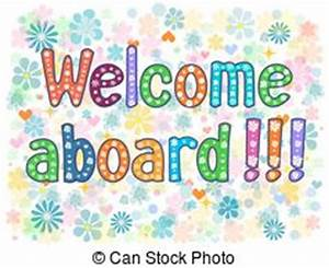Welcome aboard Vector Clipart Royalty Free. 123 Welcome ...
