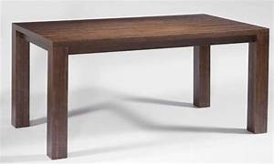 Exclusive kitchen dining tables and suits in many for Modern wood dining table