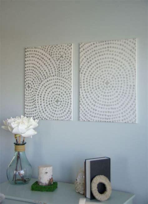 diy artistique peindre sur canvas cercles tableau sur toile pour les murs et diy