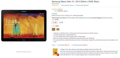 galaxy note 10 1 2014 edition gets a price cut sammobile sammobile