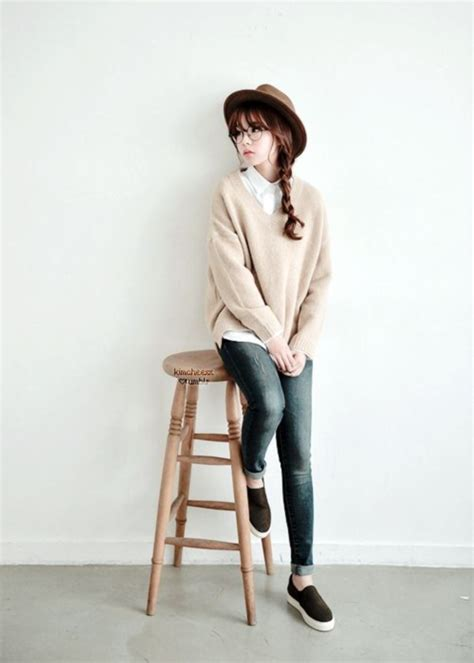 The gallery for --u0026gt; Simple Korean Fashion Style