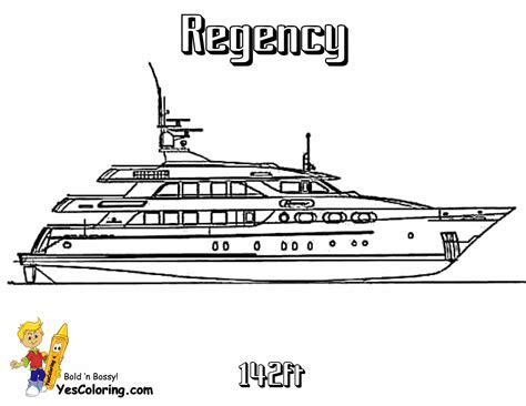 Gus Boat Free Coloring Pages