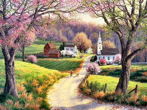 April Morning By Randy Van Beek  Artrandy Van Beek
