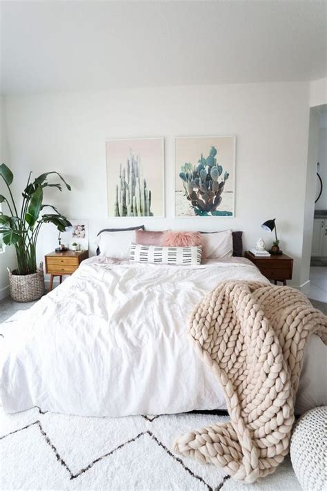 minimalist boho bedrooms    cute
