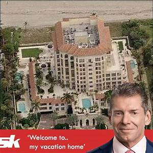 Vince McMahon39s House Full Low Down On The Mansion Of The
