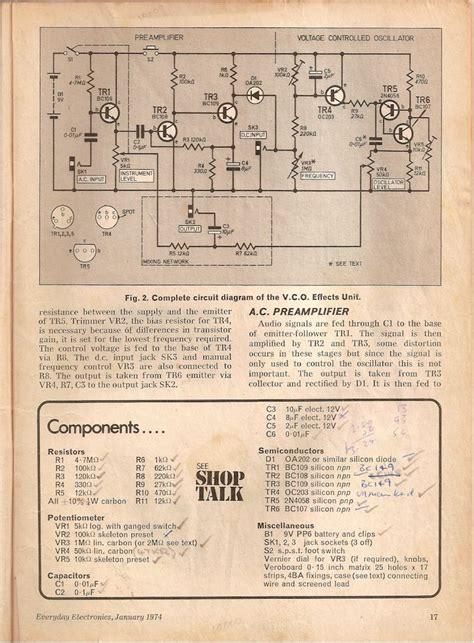 Pin James Ellis Pedal Schematics