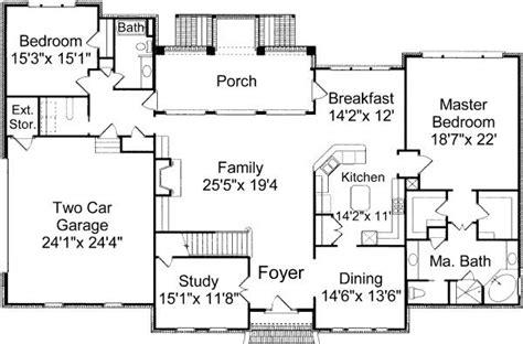 bedroom  bath colonial house plan alp  chatham design group