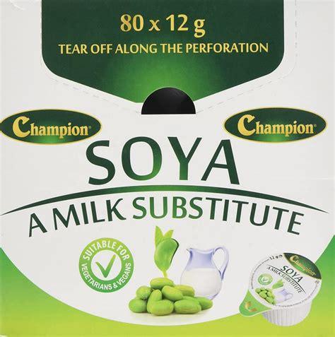 SALE Champion Soya Milk 80 x 12g | Approved Food