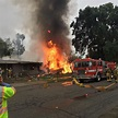 Three Killed, Two Injured When Small Plane Crashes Into ...