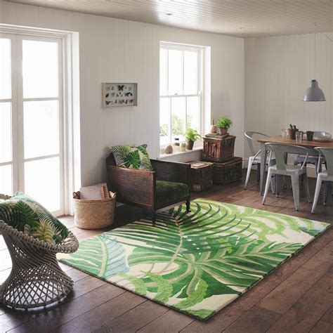 tropical floor style sanderson manila rug fresh design blog
