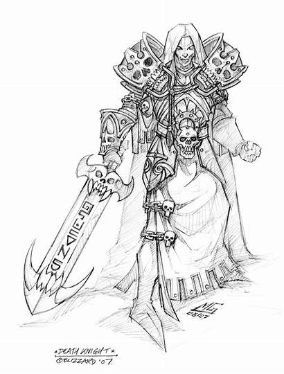 Warcraft King Lich Pages Wrath Coloring Wotlk