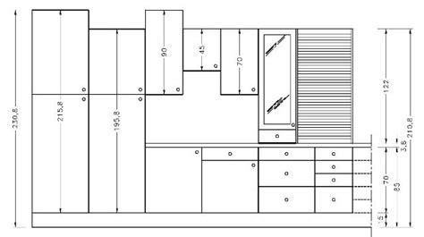 dimension meuble cuisine haut int 233 rieur de maison