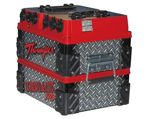 thumper ah redback battery pack  bonus amp charger
