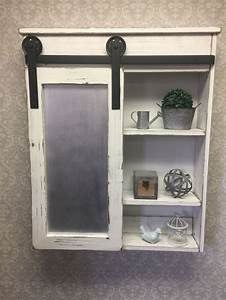 best 25 farmhouse medicine cabinets ideas only on With barn door style medicine cabinet