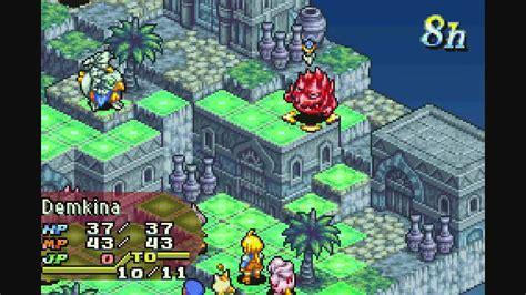 final fantasy tactics advance wii  virtual console