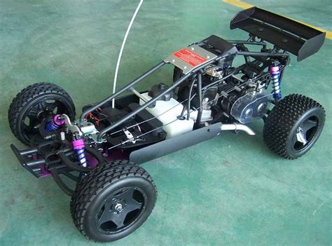 Development Of Gas Powered Remote Control Cars